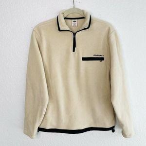 Old Navy Fleece Pullover Sweater Cream